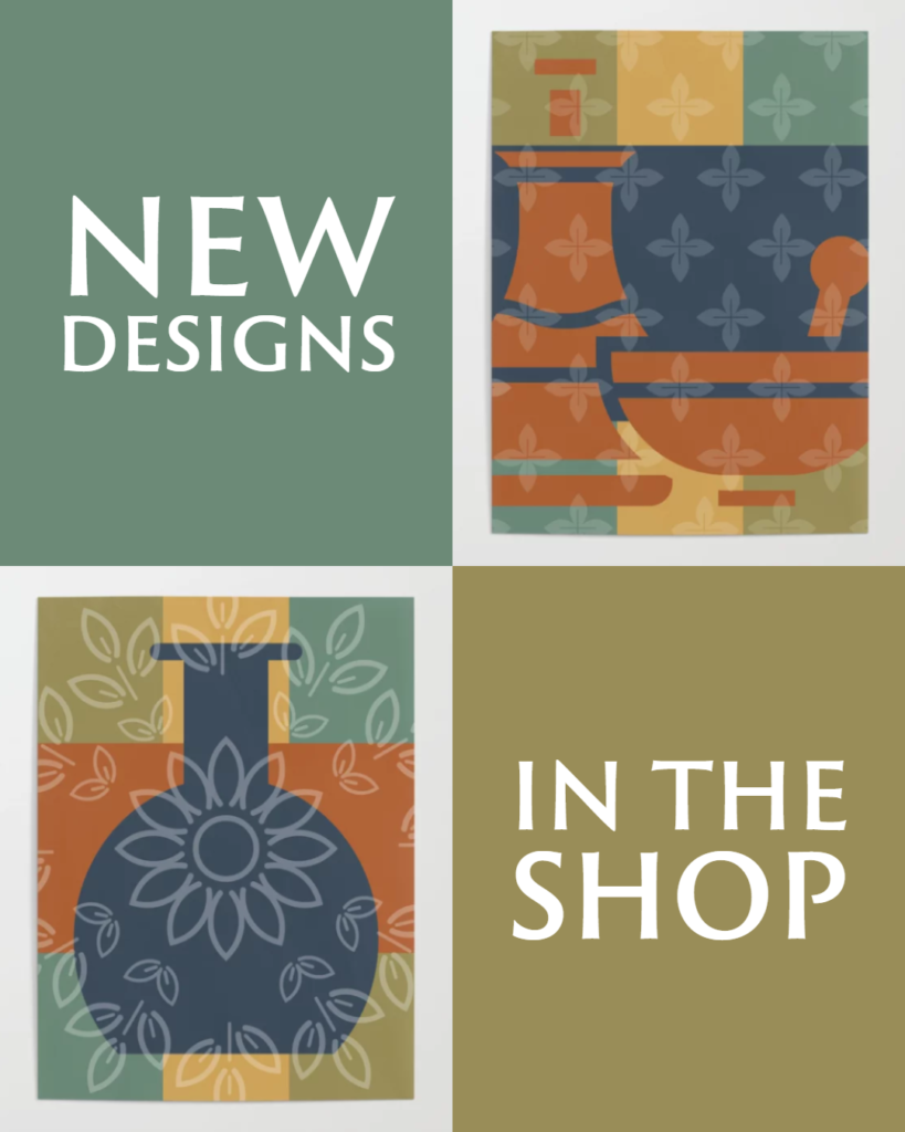 New Designs in the Shop