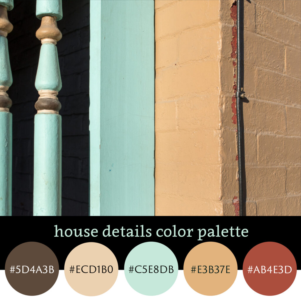 House Details Color Palette