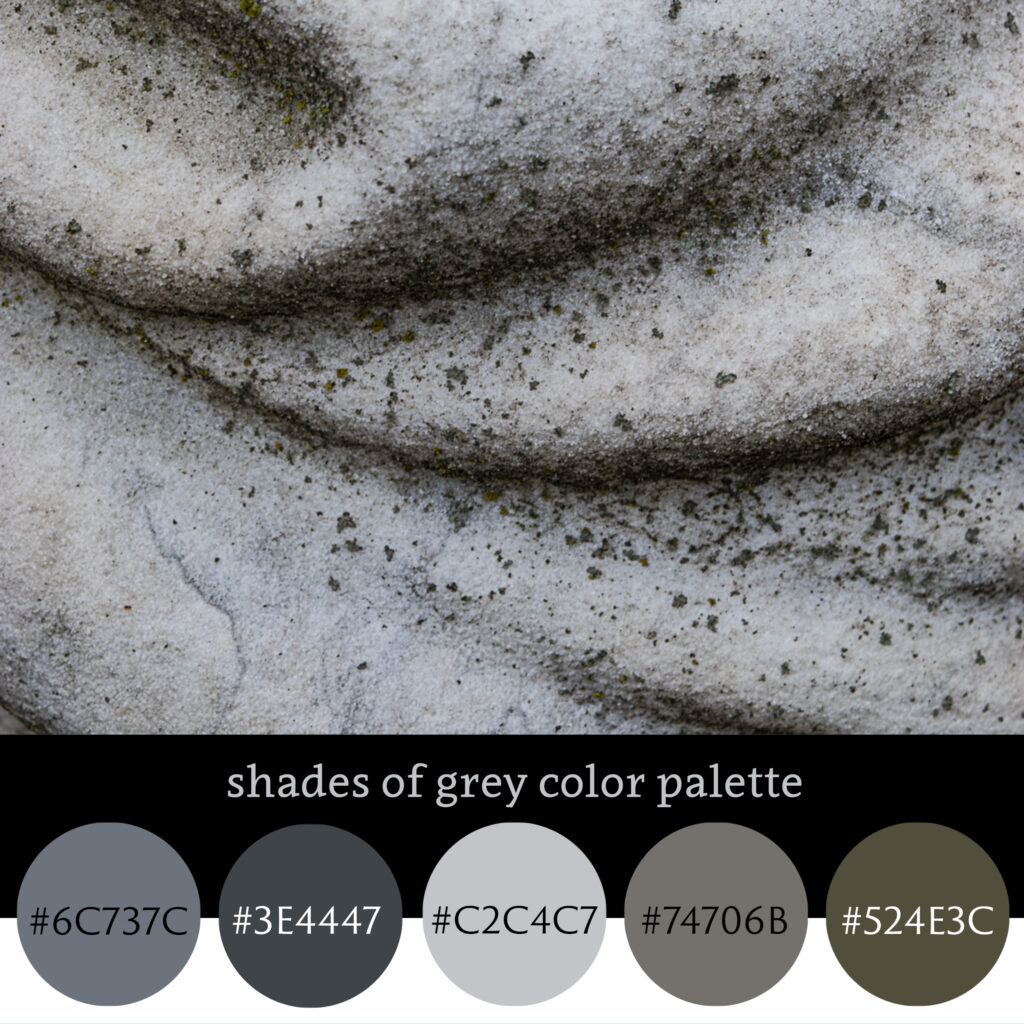 Shades of Gray Color Palette