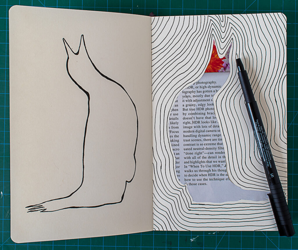 Penguin Spread: Step Two