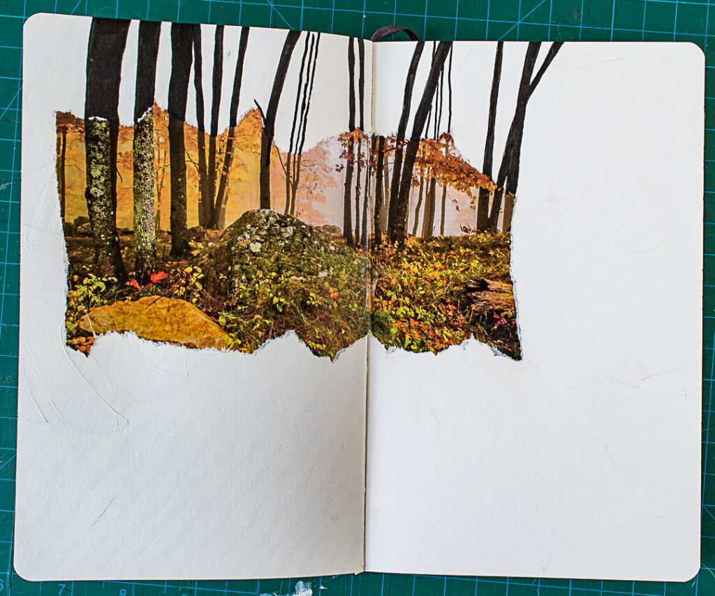 Photo & Doodles Art Journal Spread: Step 3