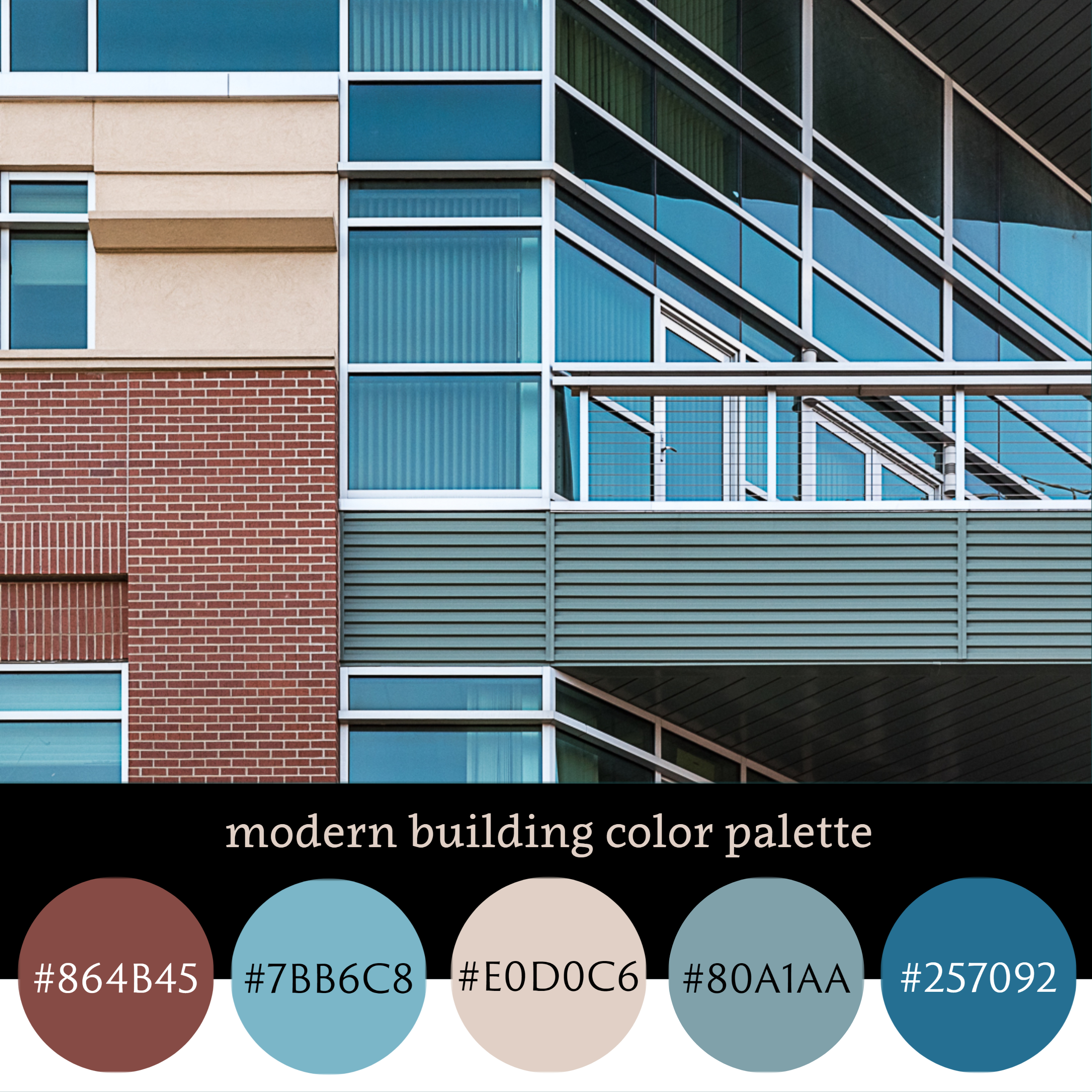 Modern Building Color Palette