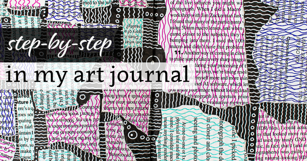 Step-by-Step in my Art Journal