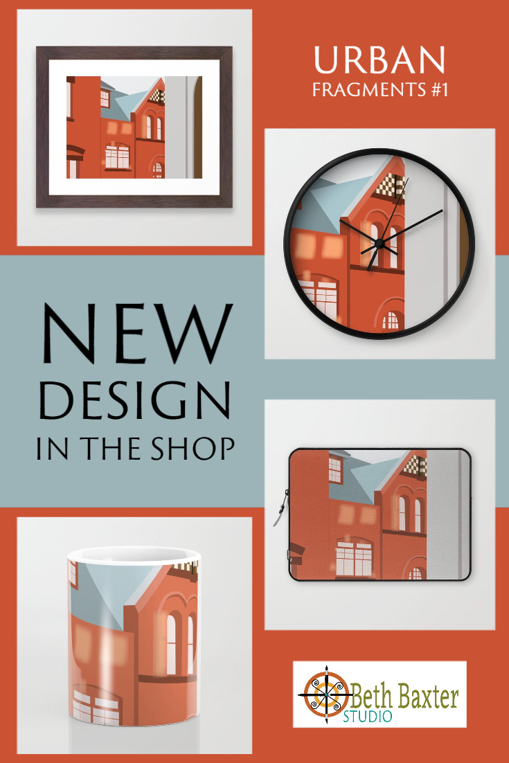 New Design in Shop: Urban Fragments #1
