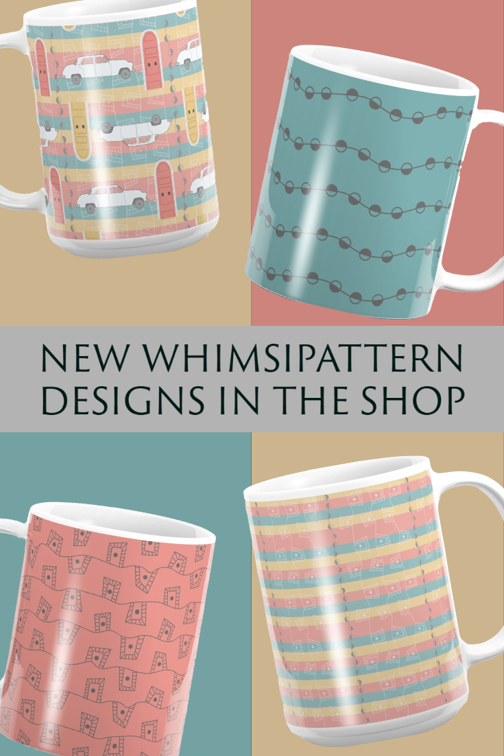 New Whimsipattern Designs in the Shop