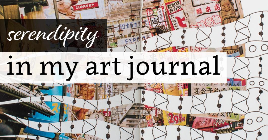 Serendipity in my Art Journal