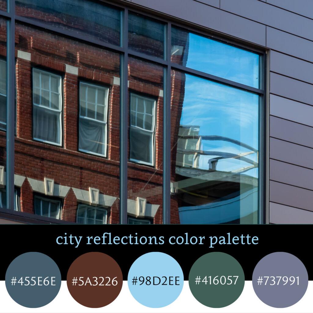 City Reflections Color Palette