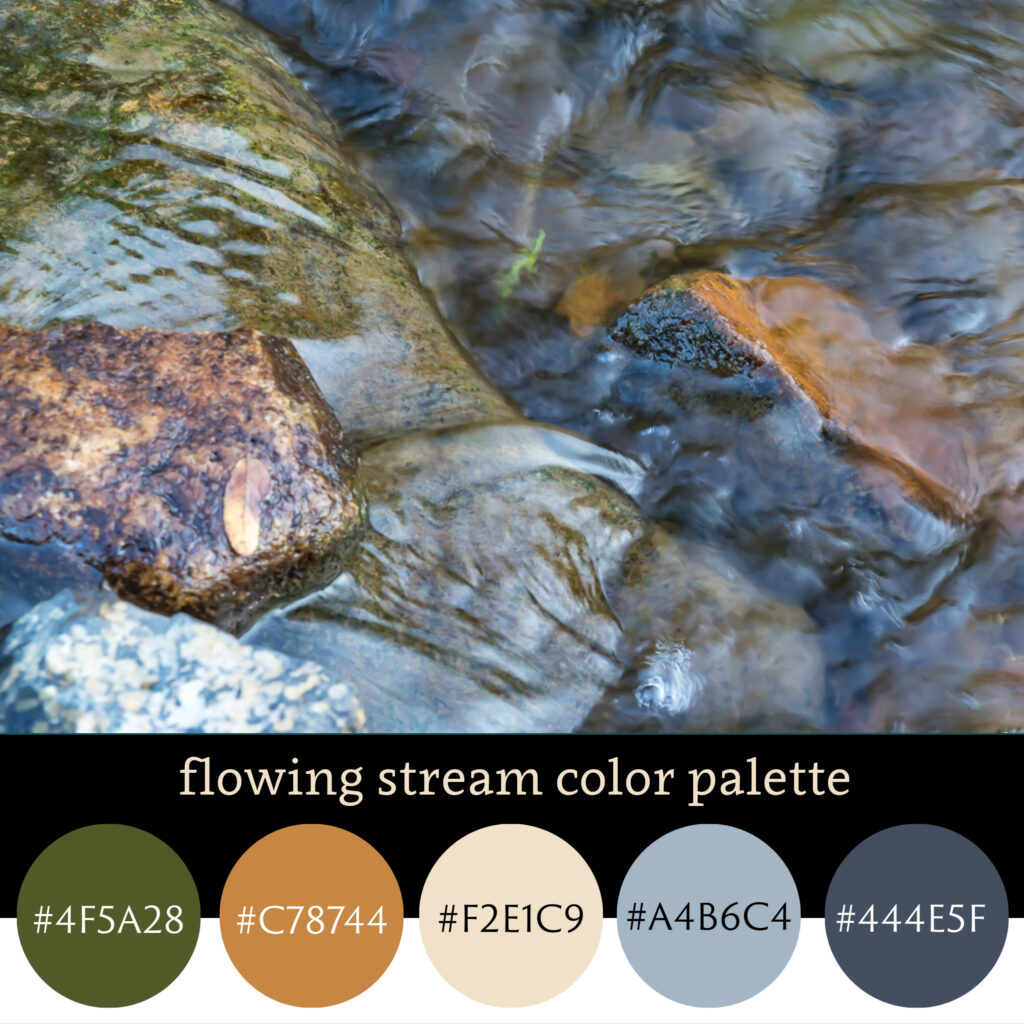 Flowing Stream Color Pallette