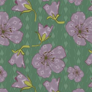 Geranium Blooms & Buds