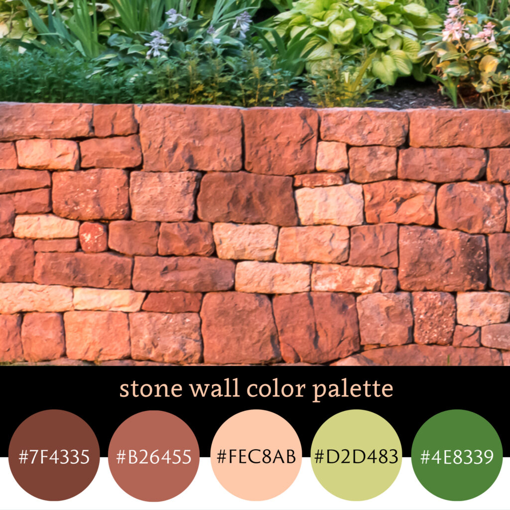 Stone Wall Color Pallette