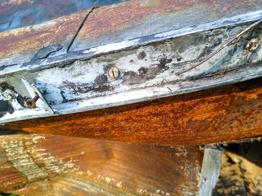 Rusted Scrap Metal