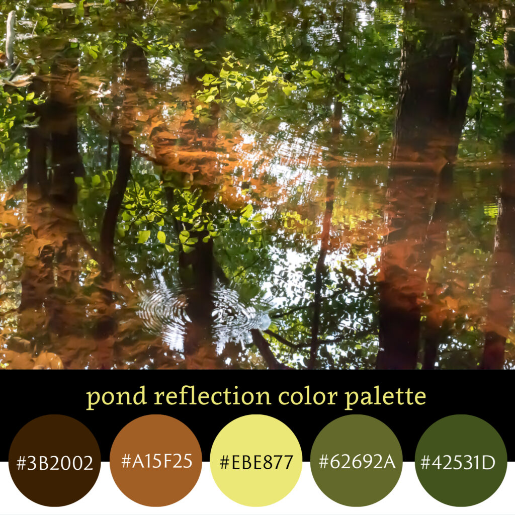 Pond Reflection Color Palette