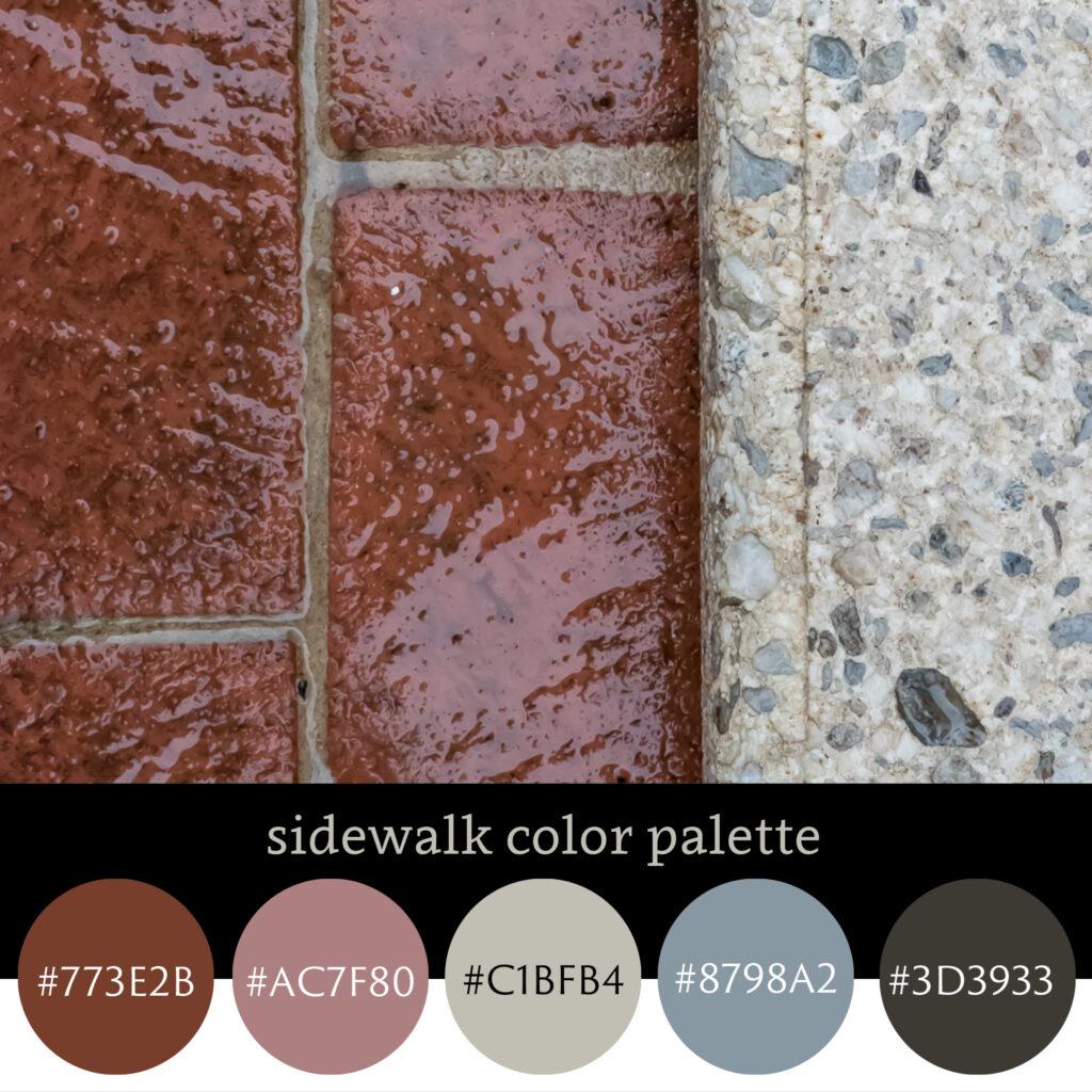 Sidewalk Color Palette