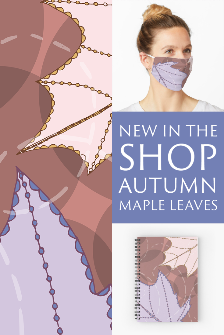 New in the Shop: Autumn Maple Leaves