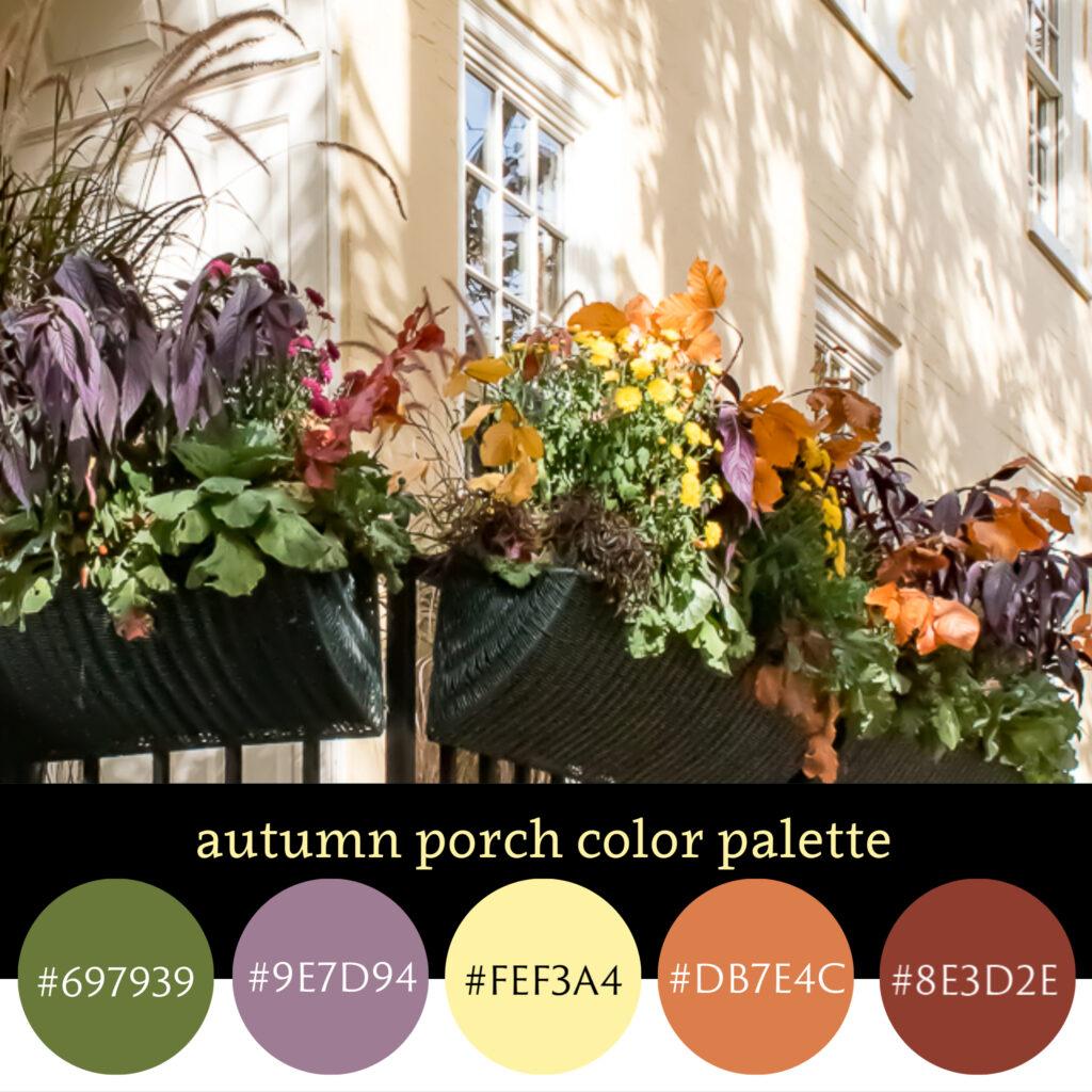 Autumn Porch Color Palette
