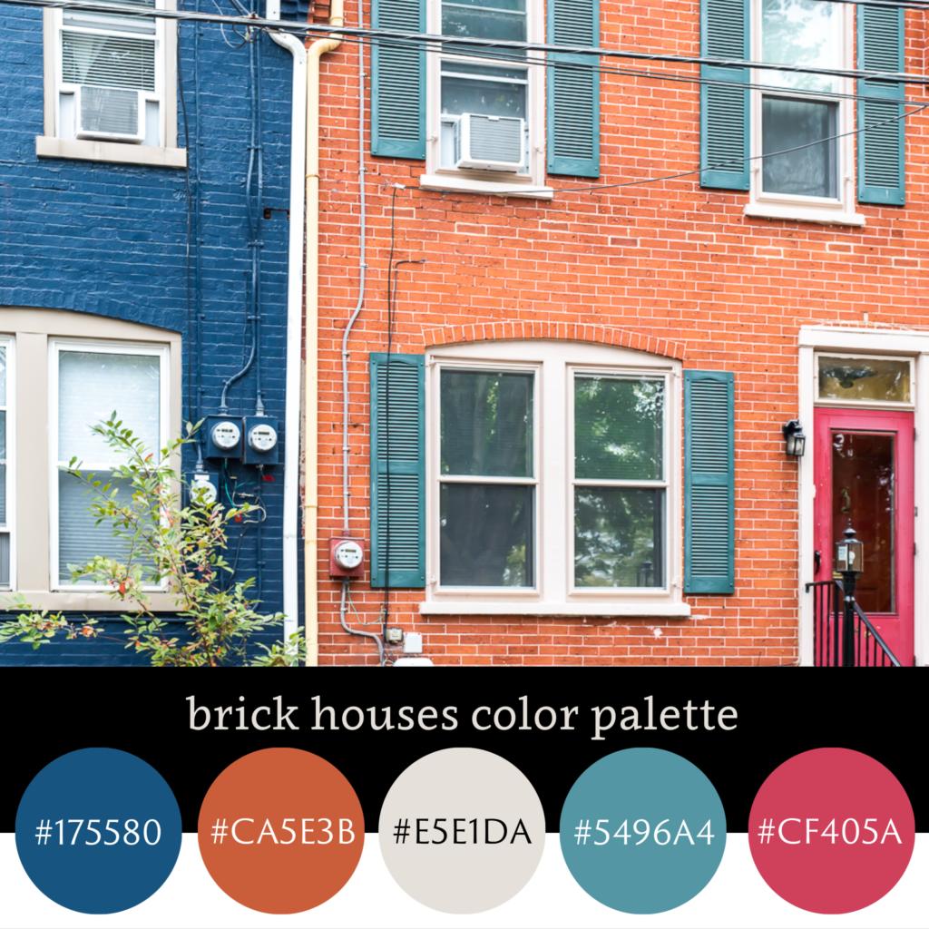 Brick Houses Color Palette