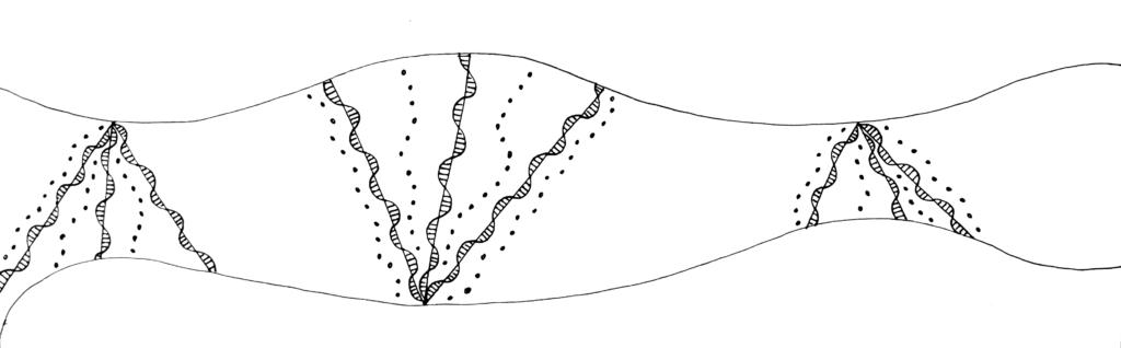 Hand-drawn doodle motif