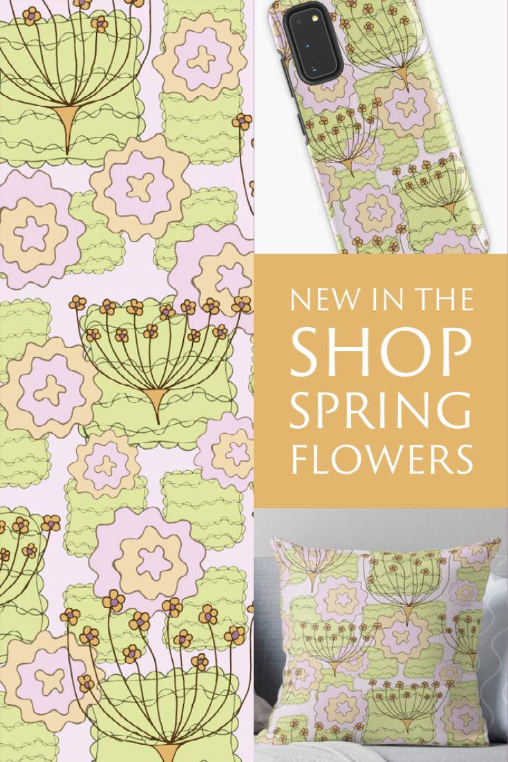 New in the Shop: Spring Flowers