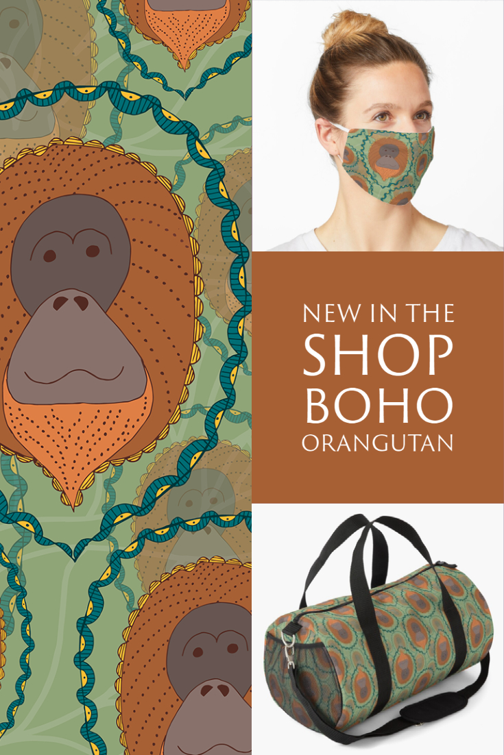 New in the Shop: Boho Orangutan