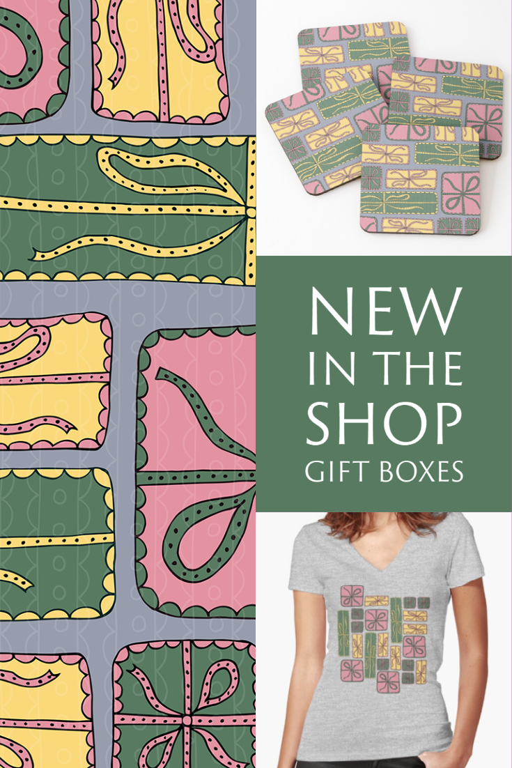 New in the Shop: Colorful Gift Boxes