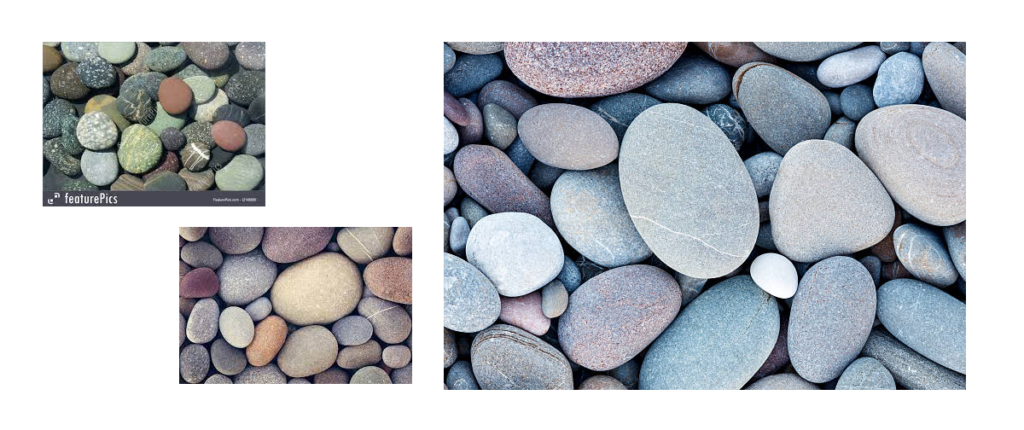 River Rocks mood board