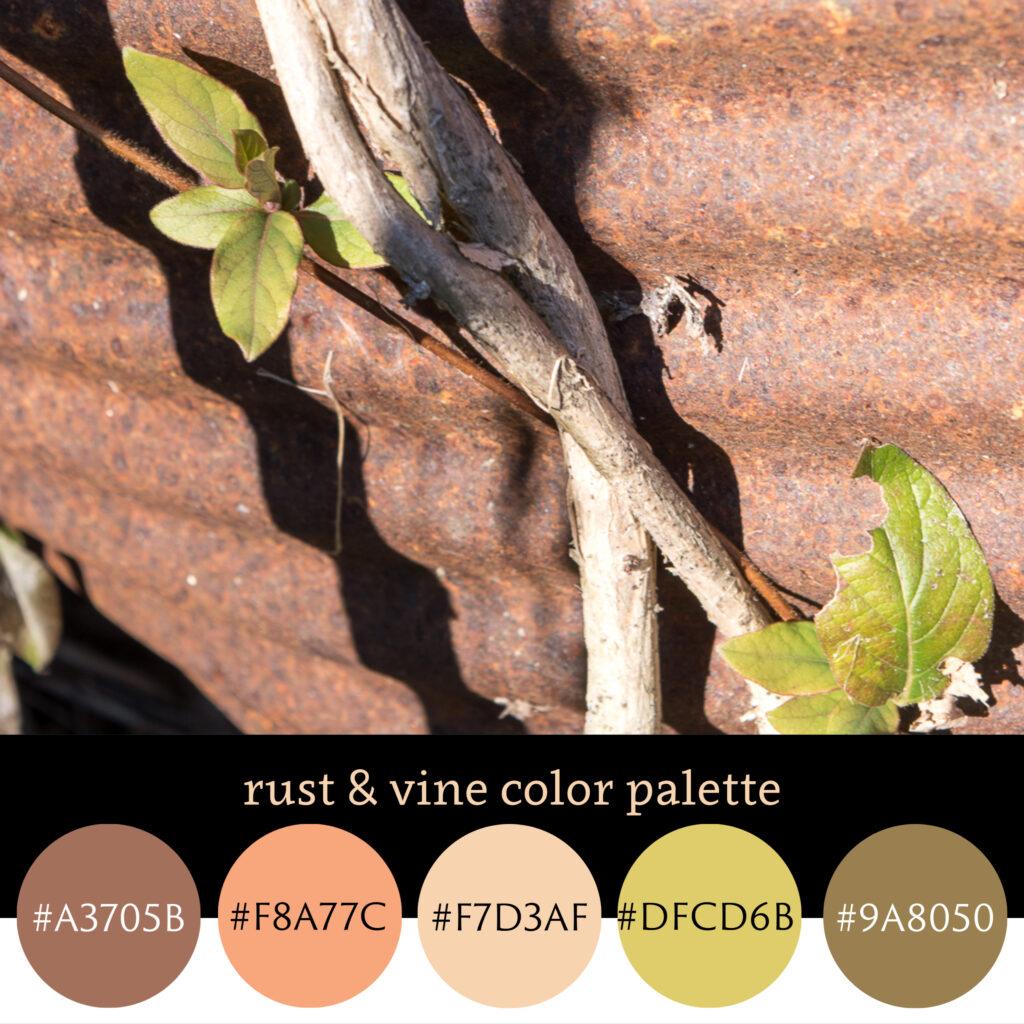 Rust & Vine Color Palette