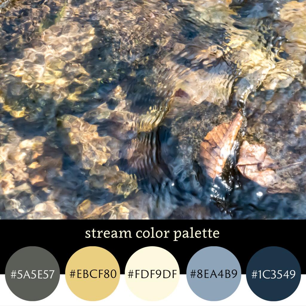 Stream Color Palette