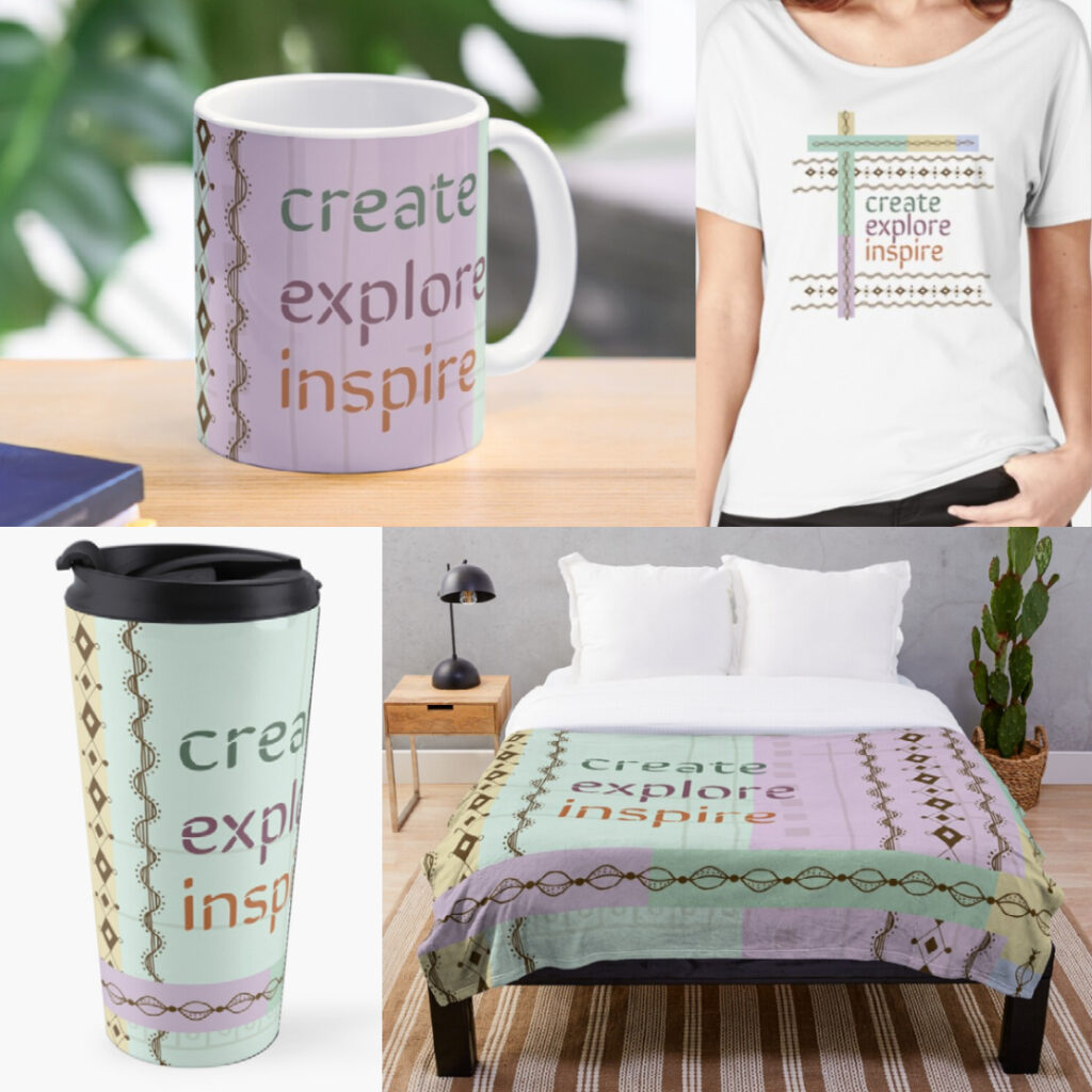 Create, Explore, Inspire products