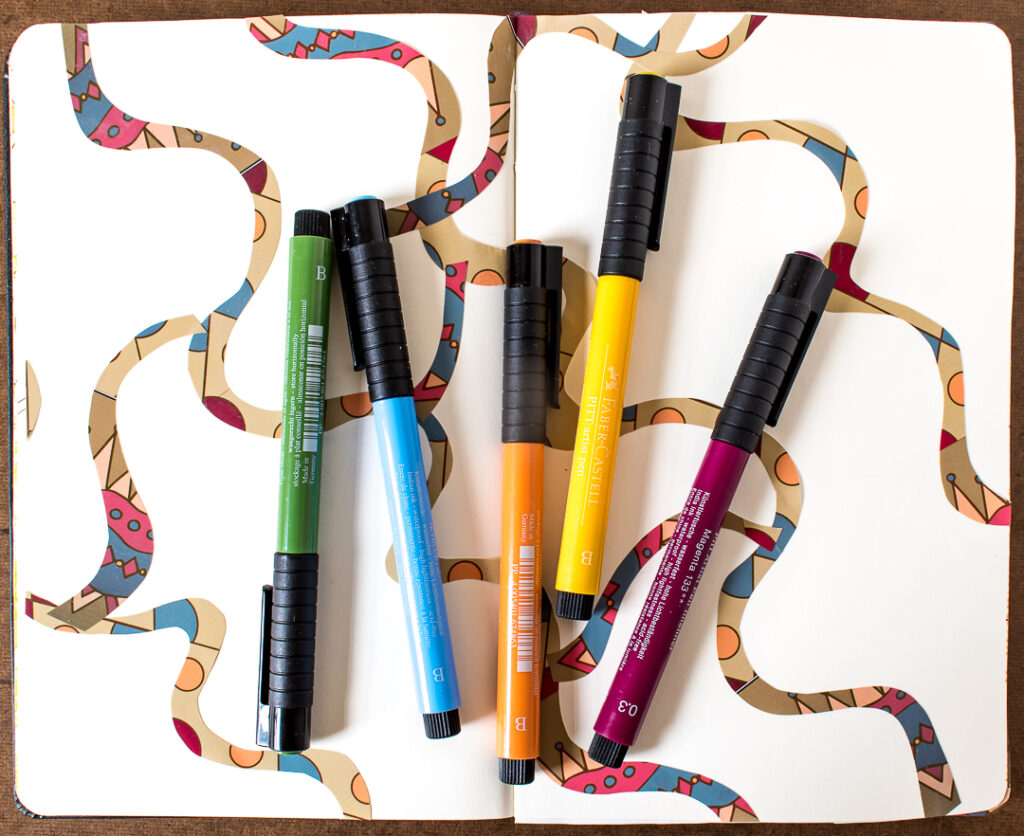 Choosing colored markers