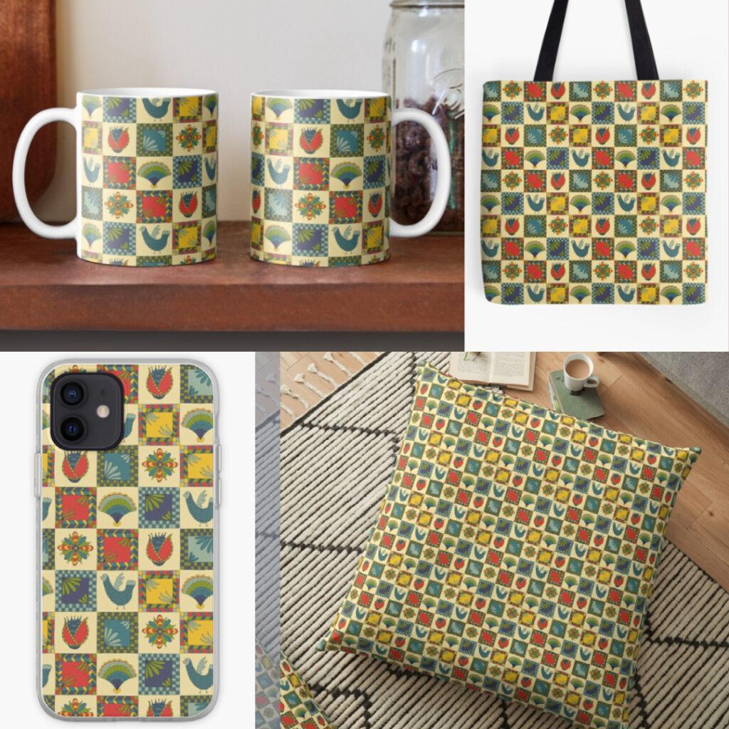 Folk Art Pattern Products