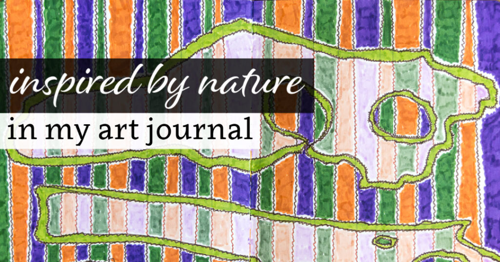 Inspired by Nature in my Art Journal