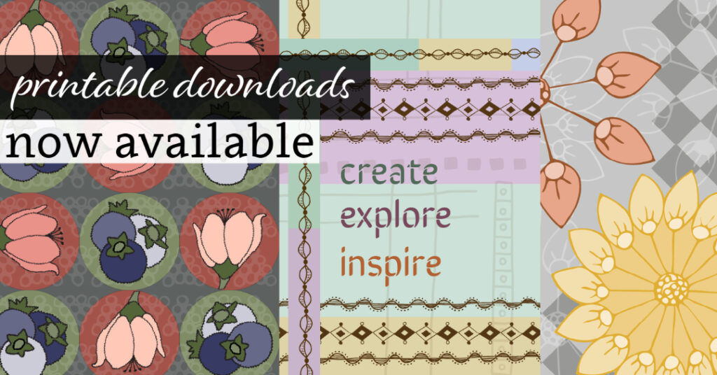 Printable Downloads Now Available