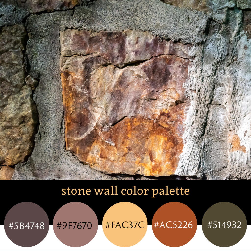 Stone Wall Color Palette