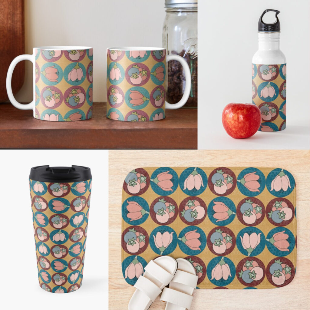 Berries & Blooms Products